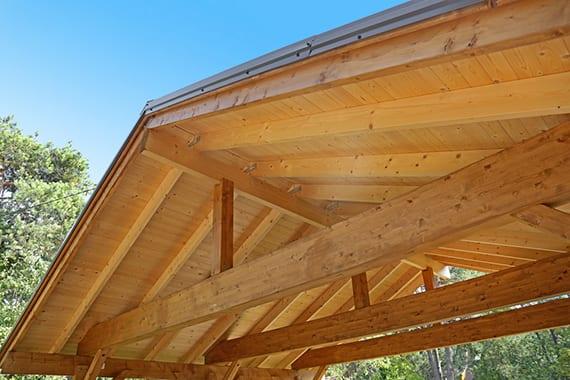 carport mit satteldach aus holz selber bauen