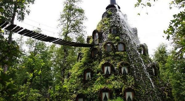 Übernachtung in den merkwürdigsten Hotels in der Welt