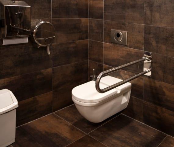 anforderungen für barrierfreie Gestaltung von Bad und Toilette