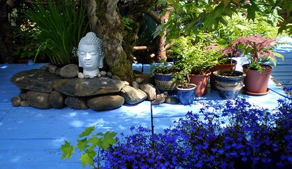 Gartengestaltung Asiatischen Stil gartenideen für blaue gartengestaltung im asiatischen stil freshouse