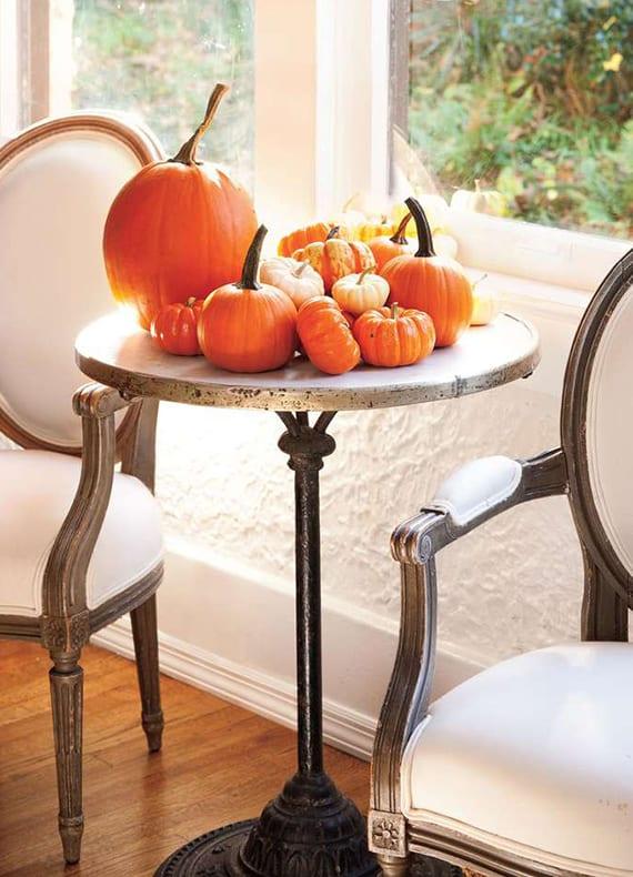 Fabelhafte herbstdekoration ideen mit k rbissen freshouse for Halloween zimmerdeko