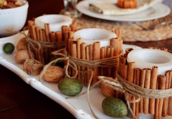 50 tolle herbstliche tischdeko ideen f r einen festlich gedeckten tisch freshouse - Herbstlich dekorieren mit naturmaterialien ...