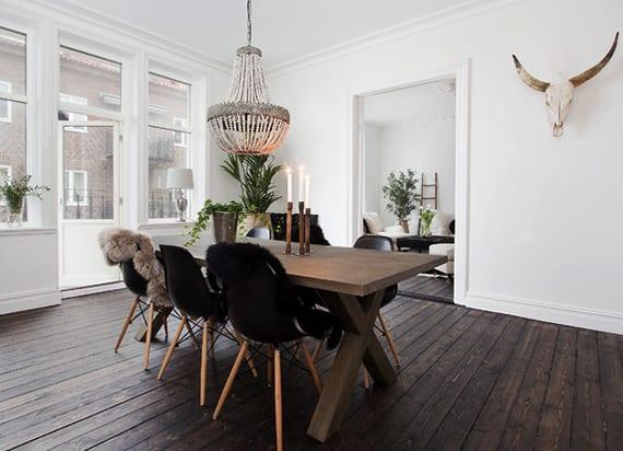 Toll Esszimmer Ideen Im Scandinavian Style   FresHouse