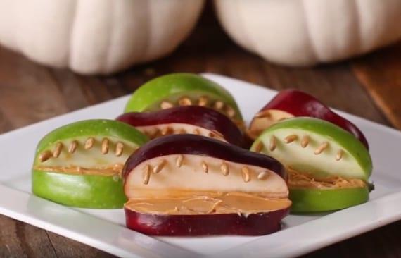 halloween augen essen