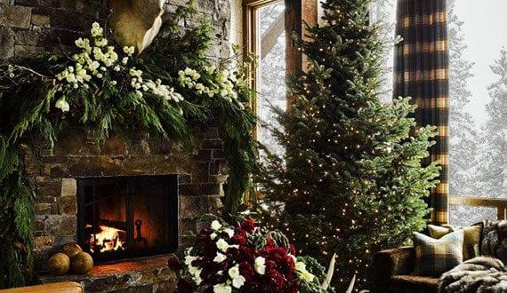 attraktive raumgestaltung zu weihnachten f r eine ganz. Black Bedroom Furniture Sets. Home Design Ideas