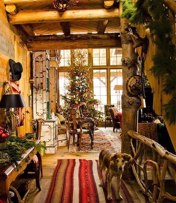 dekoideen und deko-artikel für weihnachten landhausstil